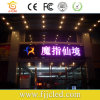 Outdoor P10 Single Red/Blue/Green/Yellow/White Color Text LED Moving Sign Customized Dimensions