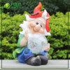 정원 Gnome Figurine (NF360028)를 가진 유리제 Solar Light