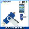Smart Phones/Tablet PCS Blueのための8GB Rotatable Clip OTG USB Flash Drive