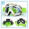 Lunettes de soleil UV de motocyclisme de lunetterie de sûreté de protection de bâti coloré de TPU