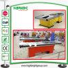 Bureau du caissier de supermarchés Wtih transmettre et de couleur différente de la courroie