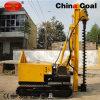 Gleisketten-hydraulischer gewundener Schrauben-Stapel-Dieselfahrer für Verkauf