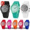Stock Fashion Silicone Watch에 있는 8개의 색깔
