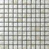 Hademadeの絵画雪の白い浴室の磁器のモザイク(C625001)