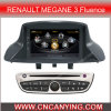 GPS, Bluetooth를 가진 Renault Megane 3 Fluence (2009-2011년)를 위한 특별한 Car DVD Player. A8 Chipset Dual Core 1080P V-20 Disc WiFi 3G 인터넷 (Cy C145와
