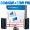 Système d'alarme automatique à faisceaux multiples extérieur de sécurité d'appeleur de Wireles GSM (KI-G40W)