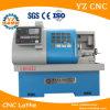 Torno Ck6432 do CNC com sistema de controlo de GSK & o mini torno