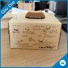 Bolsa de papel Kraft de regalo para el pastel de cumpleaños embalaje