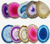 L'individuazione Pendant dei monili della fetta naturale dell'agata Assort la lunghezza di colore 50-70mm