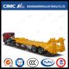 Cimc Huajun 13m 3axle Lowbed Semi Trailer met High Tensile Steel Beam