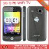 3.5  Capacitieve GPS Bluetooth van het Scherm Androïde V2.3 Mtk6573 van de Aanraking GPS van TV WiFi Mobiele Telefoon