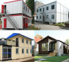 Het geprefabriceerde Huis van het Frame van het Structurele Staal van het Ontwerp