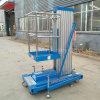 Plataforma de trabajo portable con pilas de antena de la aleación de aluminio