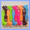 iPhone를 위한 Chargekey Portable Key Chain Charger Cable 6 5 5s 5c Lightning 8pin Keychain Cable