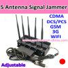 11W 5 Antenna WiFi Signal Jammer