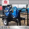Modelo de 10 pulgadas de la agricultura de riego equipos bomba de agua de Diesel