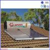 Ecrã plano solar do calefator de água