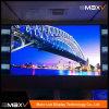Visualización de LED al aire libre a todo color de P10 640*640m m con impermeable