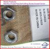 L'acier du carbone DIN934 raffinent la noix Hex M12