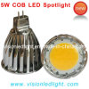 5W lumière de tache de l'ÉPI MR16 LED (COB-MR16-5W-M)