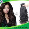 卸売100%の加工されていないバージンの毛の自然な波の人間の毛髪の拡張