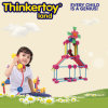 Buntes hartes Plastikmädchen-pädagogisches Spielzeug