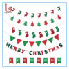 Various Merry Christmas Nonwoven Letter Banner Flag