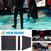Vídeo en color de los paneles LED interactivo