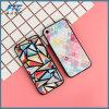 새로운 도착 격자 패턴 iPhone를 위한 Retro 전화 상자 더하기 6 6s 7