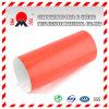Grado de Ingeniería rojo laminado reflectante vinilo para señales de tráfico por carretera los signos de advertencia (TM7600)
