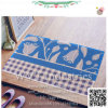 Piso exterior de PVC Non-Slip felpudo Welcome mat
