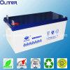 12V250ah ZonneAGM van de Cyclus van het Onderhoud van het lood Zure Vrije Diepe Batterij