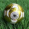 金カラーサイズ2 PVC昇進のサッカーボール