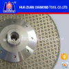 disco d'affilamento placcato 105-230mm per il taglio di pietra