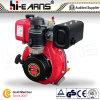 motor diesel 6HP con el color rojo del eje de la tira (HR178F)
