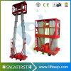 6m alla scaletta idraulica della lega di alluminio dell'elevatore elettrico mobile 10m