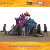 Cour de jeu magique de château d'enfants extérieurs de matériel (PE-01001)