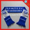 Kundenspezifische AcrylFußballfane strickten Schal