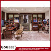 Retail Garmentの記憶装置またはGarmentのショールームのための木のDisplay Furniture