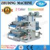 Machine d'impression flexographique de 2 couleurs