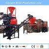 Bloque de cemento automático completo del cemento que hace la línea de la máquina