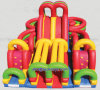 Weniger Maintenance Inflatable Castle Made in China (A201)