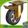 Gesamtbremsen-Gummi-Rad-Fußrolle mit guter Qualität