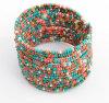 Aprire i monili della Boemia del braccialetto di fascino di modo dei branelli del braccialetto