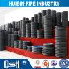 Paroi intérieure lisse noire 18 pouces grand diamètre du tuyau de HDPE