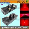2 empresta a luz vermelha do estágio do laser 200MW para a venda