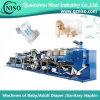 Hochgeschwindigkeitsbaby-Windel-Auflage, die Maschine mit PLC (YNK400-HSV, herstellt)