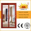 Portelli di vetro di scivolamento di alluminio usati commerciali (SC-AAD005)