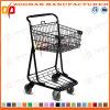 Supermarkt-Korb-Einkaufen-Laufkatze (Zht66)