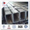 Grado di ASTM A500 un 100 millimetri X un tubo vuoto quadrato delle 100 sezioni laminato a freddo millimetro